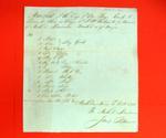 Barge, J. Be. Taibeault, Manifest, 21 Oct 1816