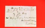 Canoe, Ralph Rouseau, Manifest, 25 Apr 1820