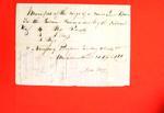 Canoe, John Lashly, Manifest, 25 Apr 1820