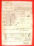 Sleigh, Elizabeth Mitchell, Manifest, 9 Mar 1821