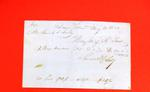 Bill of Sale, 31 May 1821