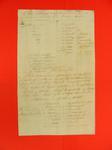 Canoe, Bill of Lading, 11 May 1802