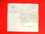 """1 canoe, 1 batteau"", Manifest, 12 Jun 1803"