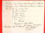 Canoes, Manifest, 02 Jun 1808