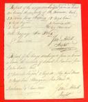 Canoe, Daniel O. Dunham, Manifest, 02 Jun 1808
