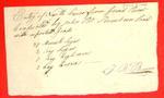 North Canoe, John Bt. Beaubien, Manifest, 03 Jun 1808