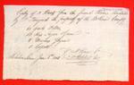 Boats, P. Perigord, Manifest, 06 Jun 1808