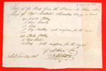 Boats, Berthelot & Brisebois, Manifest, 24 Jun 1808