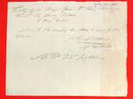 Barge, T. Pothier, Manifest, 22 Jul 1808