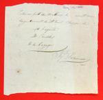 Barge, J'q Porlier, Manifest, 14 Aug 1808