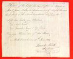 Boats, Joseph Lacroix, Manifest, 11 Jun 1809
