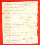 Canoe, Bourquet, Manifest, 16 Jun 1809