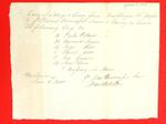 """1 barge, 1 canoe"", Daniel Bourassa, Manifest, 05 Jun 1810"