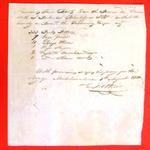 "Boats, ""Porlier, Bleakly, Berthelotte"", Manifest, 01 Aug 1810"