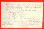 Boats, David Mitchell, Manifest, 01 Oct 1811