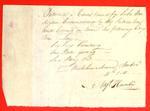 Canoe, Augustin Hamelin, Manifest, 11 Nov 1811