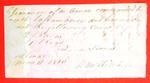 Canoe, Joseph Laframboise, Manifest, 11 May 1816