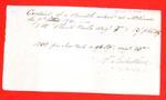 Manifest, 07 Jun 1816, P. Rocheblave, nails