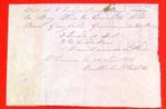 Barge, Pierre Guieselen, Manifest, 20 Jun 1816