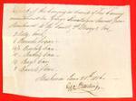 Canoes, George Ermtinger, Manifest, 21 Jun 1816