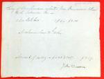 John Dousman, Manifest, 24 Jun 1816
