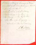 Boats, P. Jos. LaCroix, Manifest, 24 Jun 1816