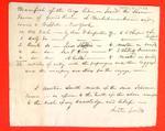Schooner, Farmer, Manifest, 21 May 1823