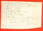 Two Open Boats, R. Robinson, Manifest, 06 Jun 1825