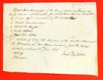 Canoe, Joseph Trottier, Manifest, 26 Jun 1834
