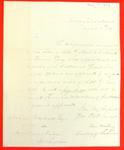Correspondence, 11 Aug 1834, Levi Woodbury to Abraham Wendell