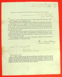 Circular, 25 Oct 1837, Levi Woodbury, Treasury Department re U.S. Treasury Notes