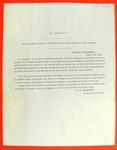Circular, Treasury Dept, 15 Oct 1849