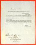Circular, Treasury Dept, 10 Nov 1849, instructions regarding accounting.