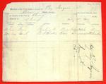 Brig Iroquois, Manifest, 18 May 1852
