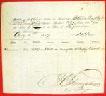 Steamer Lady Elgin, Manifest, 1 Aug 1857
