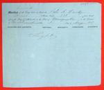 Schooner A. Handy, Manifest, 3 Aug 1857