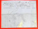 Schooner St. Andrew, Manifest, 23 Sep 1857