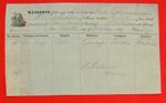 Propeller Ogdensburgh, Manifest, 19 Oct 1857