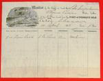 Schooner Susquehanna, Manifest, 10 Apr 1858