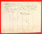 Schooner Live Oak, Manifest, 31 May 1858
