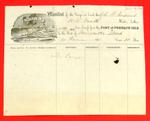 Schooner St. Andrew, Manifest, 14 Jun 1858
