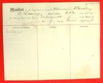 Schooner A. Bradley, Manifest, 9 Jun 1859