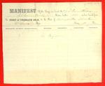 Schooner Corinthian, Manifest, 14 Jun 1859