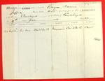 Bark Naomi, Manifest, 7 Jul 1859