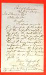 Letter, 12 Aug 1859, John Greenfield to Wendell