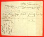 Schooner Free Mason, Manifest, 7 Sep 1859