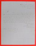 Schooner Swallow, Letter, 20 Aug 1846