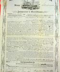 Steamer Stockman, Inspector's Certificate, 10 August 1858