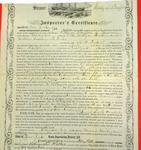 Steamer City of Buffalo, Inspector's Certificate, 20 July 1857