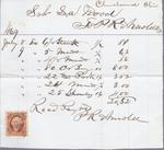 P. R. Arnold to S. A. Wood, Accounts